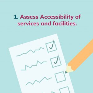 Assess Accessibility of services and facilities