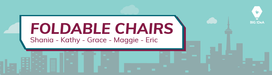 Foldable Chairs Team Banner