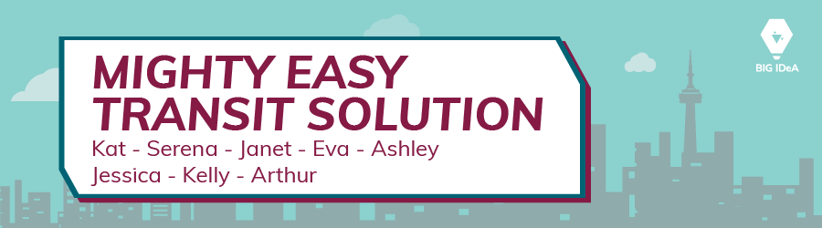Mighty Easy Transit Solution Team Banner